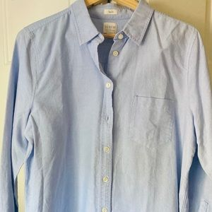 J Crew Boyfit Button-up Shirt